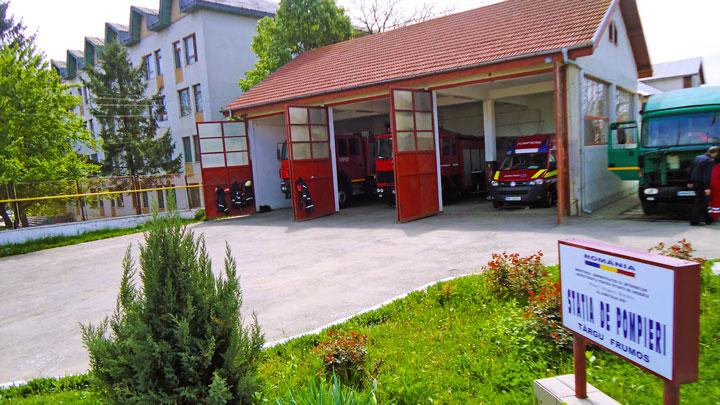 Secția de Pompieri Târgu Frumos