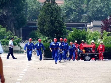 Etapa judeţeană a concursurilor Serviciilor Voluntare şi Private pentru Situaţii de Urgenţă