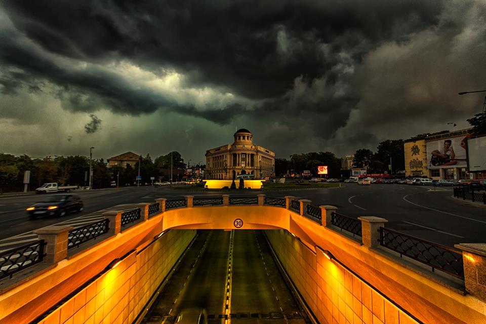 Furtună în Iași.