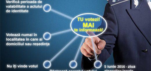 Tu votezi - M.A.I. te informeaza!