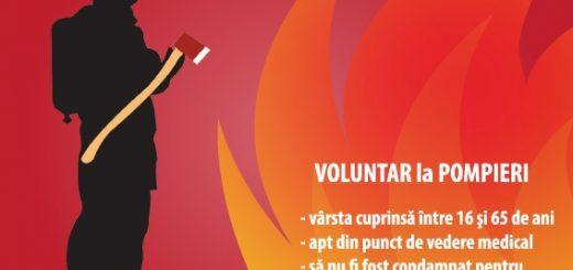 Voluntar la pompieri