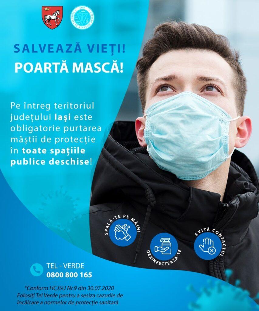 Salvează vieți! Poartă mască!