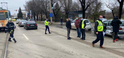 Accident rutier Iași, 16.03.2021