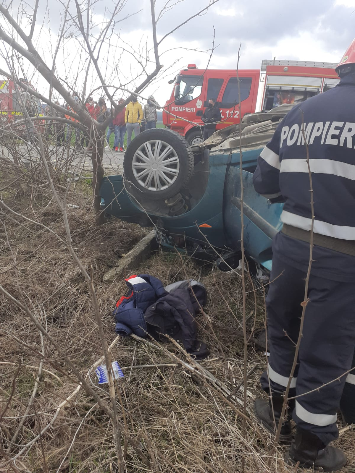 Accident rutier Cozmești, 4 aprilie 2021