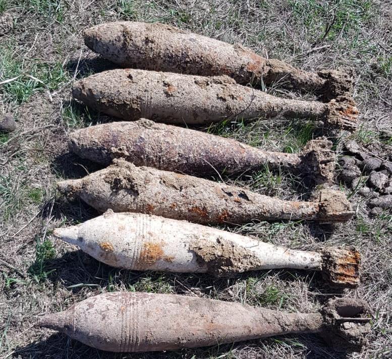 Muniție descoperită - ISUJ Iași